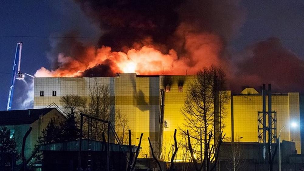 Vụ cháy trung tâm thương mại ở Nga: Số người chết đã lên tới 53